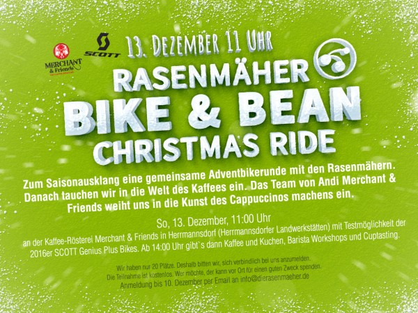 Adventbiken - Bikes & Beans Christmas Ride Event, 2015