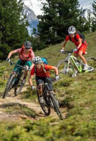Mountainbike Fahrtechnik auf Singletrails - Sölden Ötztal Camp