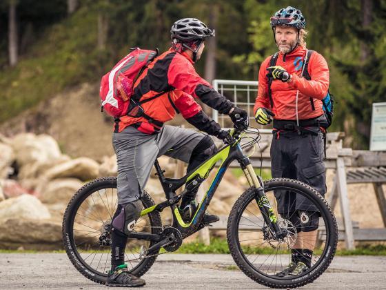 Mountainbike Fahrtechnik - Davos Enduro Camp
