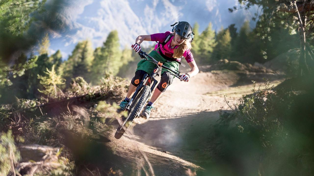Mountainbike Fahrtechnik für Frauen - Sölden Ötztal Camp