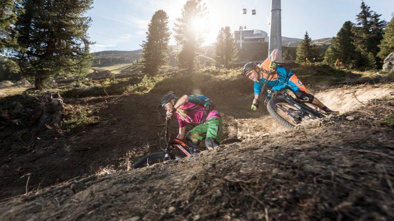 Bikepark in der Bike Republic - Sölden Ötztal Camp