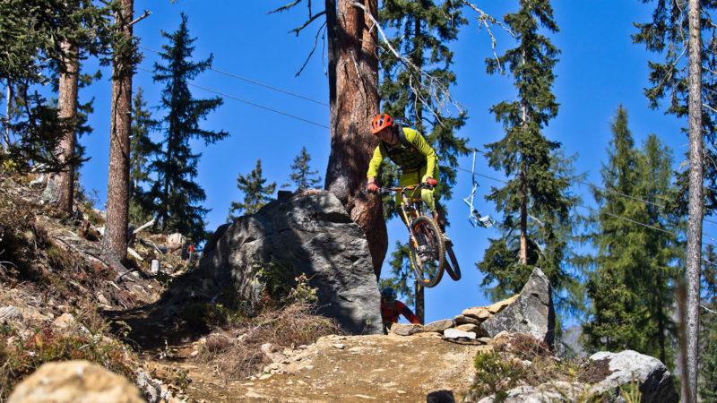 Mountainbike Fahrtechnik mit Sprüngen - Sölden Ötztal Camp