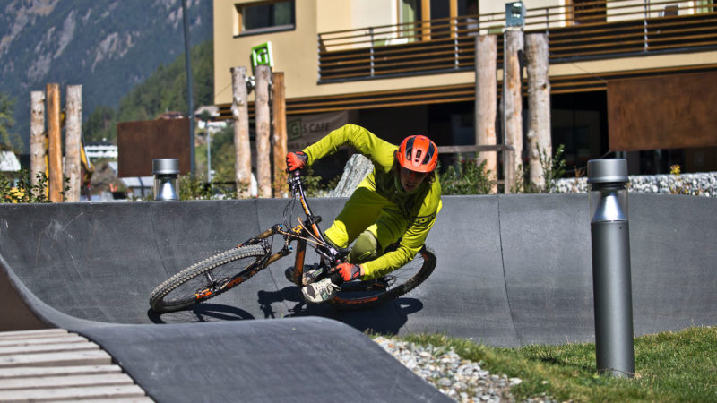 Funpark Pumptrack - Sölden Ötztal Camp