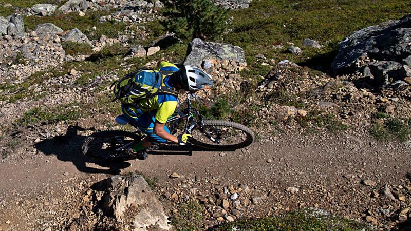 Mountainbike Fahrtechnik im alpinen Gelände - Sölden Ötztal Camp