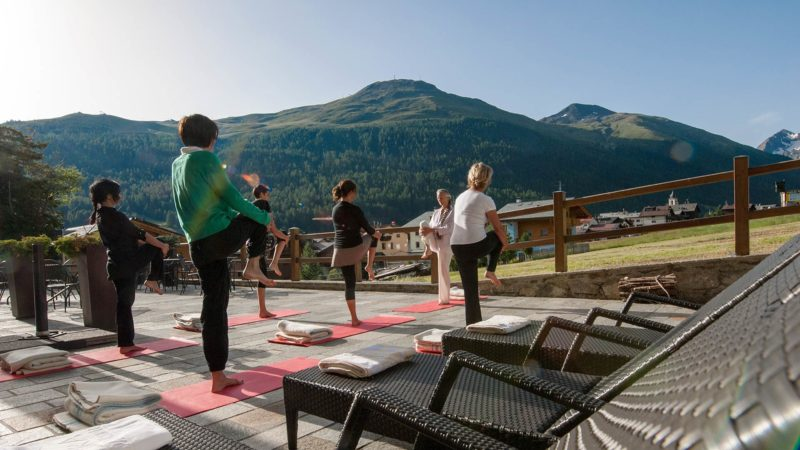 Camp Bike Yoga Livigno 2016