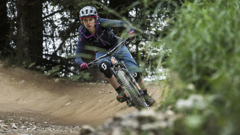 Kurventechnik - Trailcamp Bike & Yoga Women
