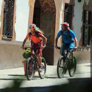 Garmisch Partenkirchen - Fahrtechnik Garmisch Mountainbike Training