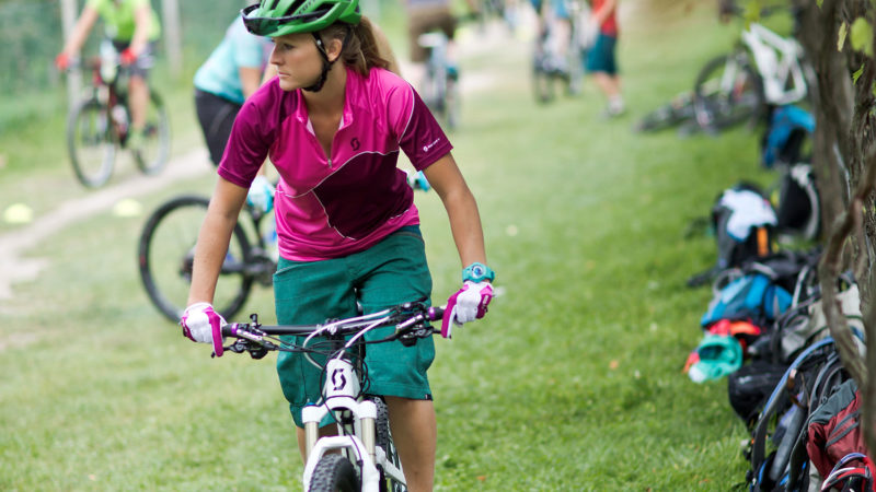 Mountainbike Einfahren - Fahrtechnik Camp Women