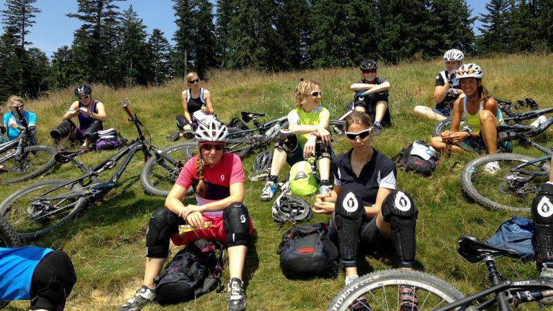Pause - Fahrtechnik Camp Women