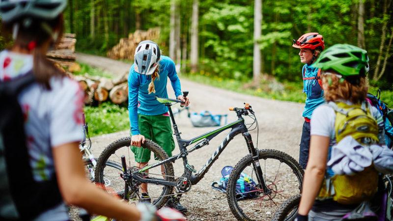 Bikecheck - Fahrtechnik Camp Women
