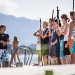 Training und Theorie - Standup Paddling Camp