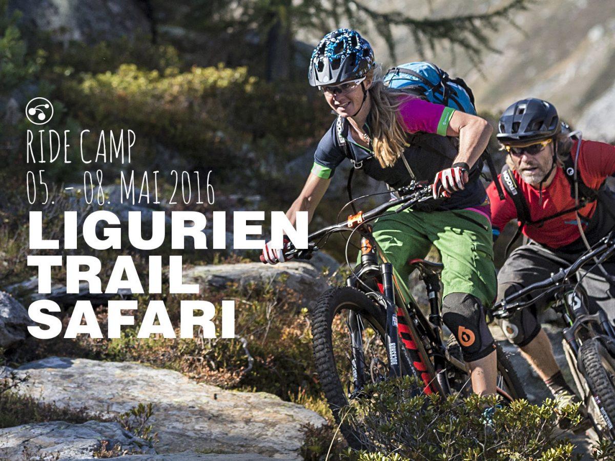 Die Rasenmäher - Fahrtechnik und Flow bei der Ligurien Trailsafari, 2016