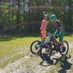 Camp Fahrtechnik Kaltern Fahrtechnikübung und Teamarbeit