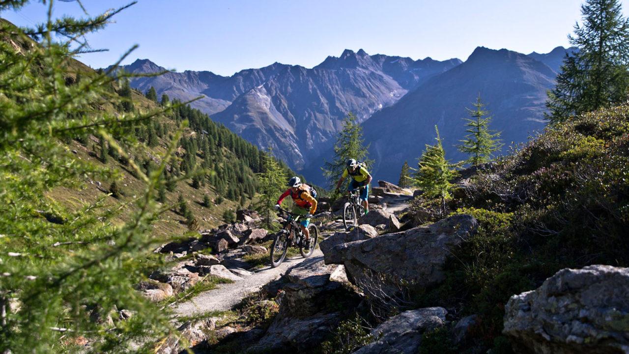 Mountainbike Singletrails im urigen Ötztal - Sölden Ötztal Camp