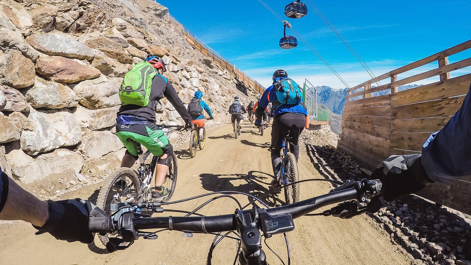 Event Schnitzeljagd 2017 - Downhill
