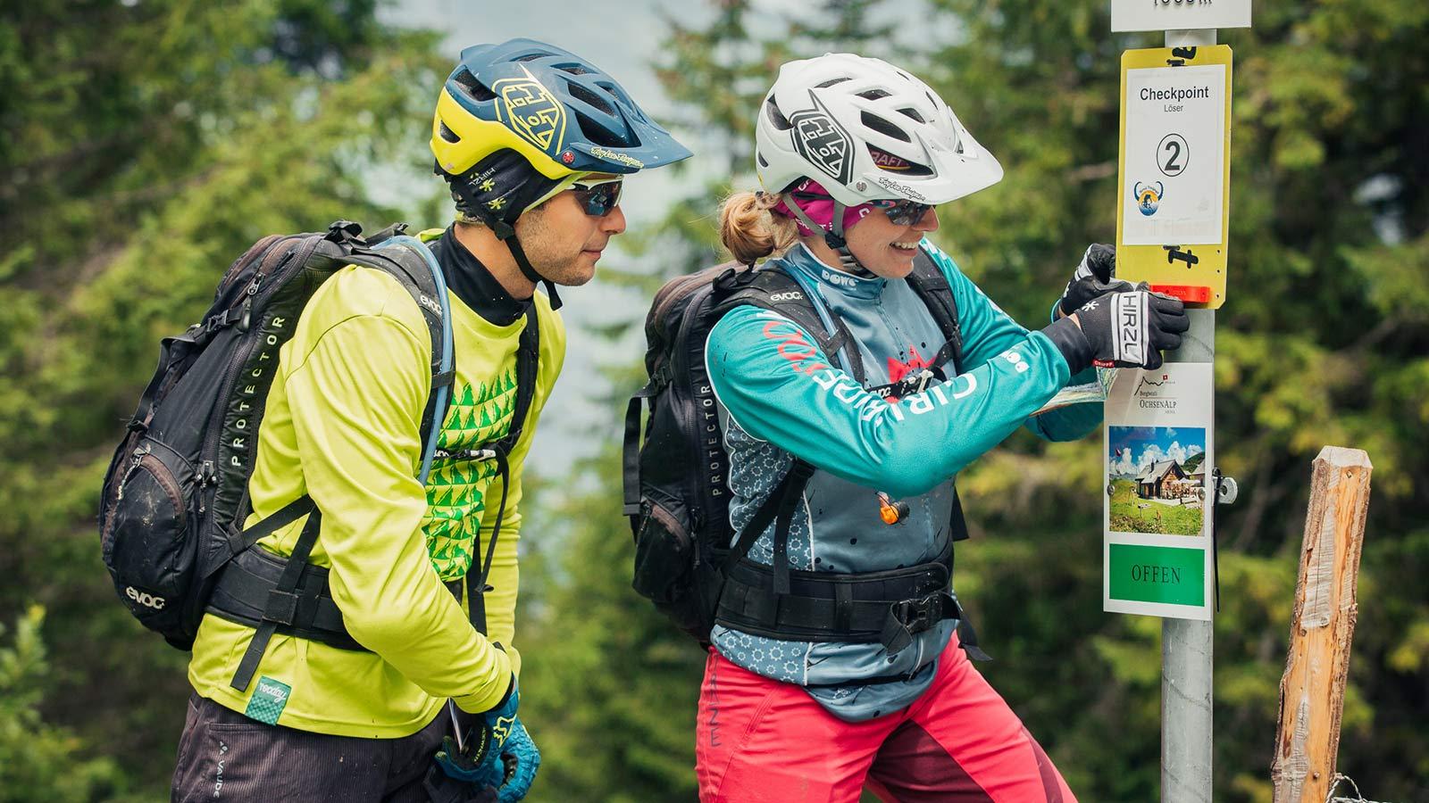 Event Hörnli Trailjagd 2017 - Checkpoint