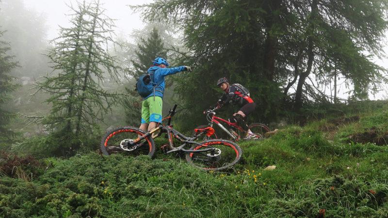 Fahrtechnik - Trailcamp Sölden Ötztal Women Camp
