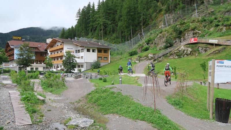 Pumptrack - Trailcamp Sölden Ötztal Women Camp