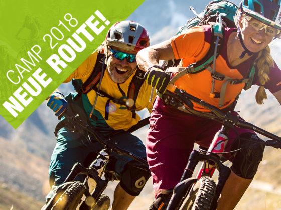 Dolomiti Enduro Mountainbike Camp und Fahrtechnik