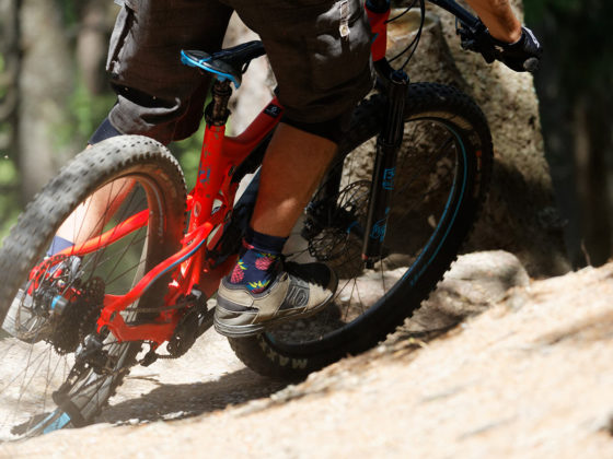 Enduro Mountainbike Freeride Camp Reschenpass - Kurventechnik