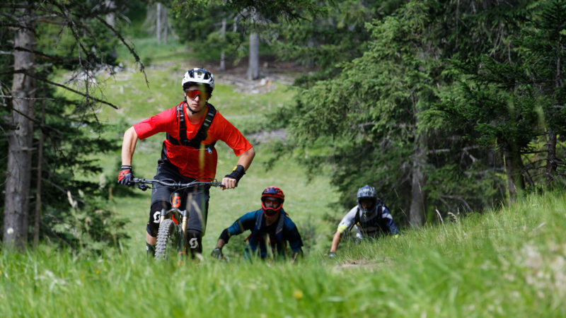 Enduro Mountainbike Freeride Camp Reschenpass - Uphill