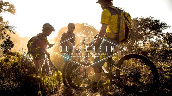 Rasenmäher Gutschein Mountainbike E-MTB Adventures Camps