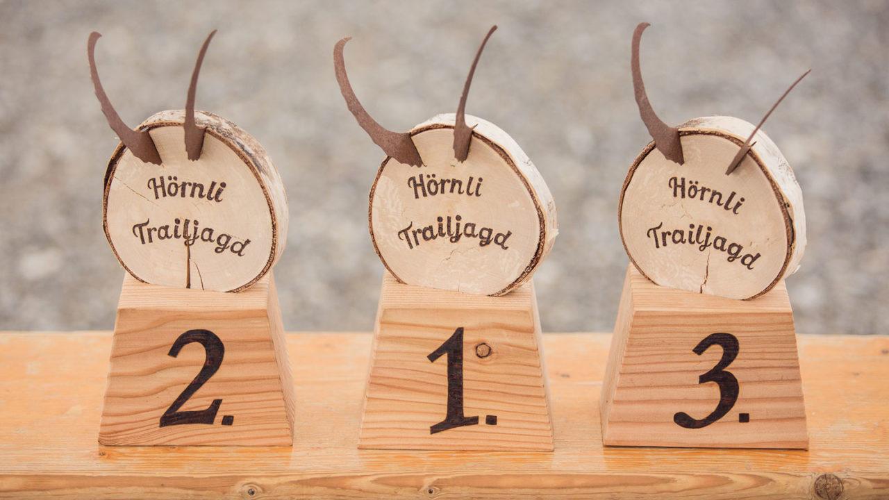 Event Hörnlijagd 2017 Arosa - Pokale