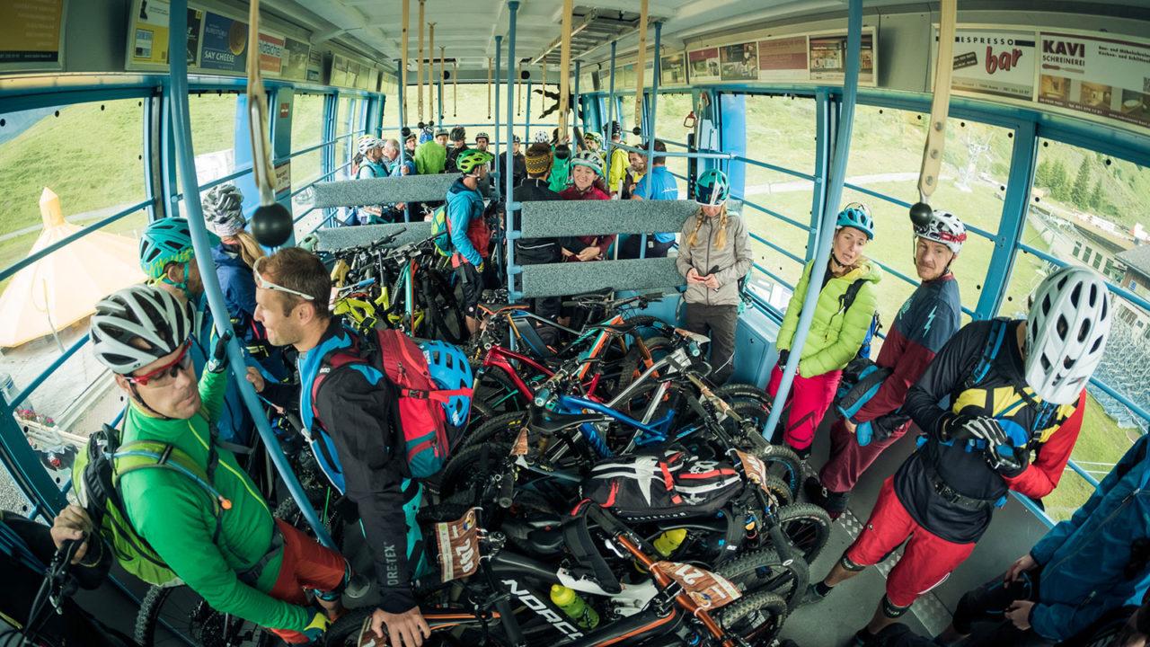 Event Hörnlijagd 2017 Arosa - Shuttlebahn