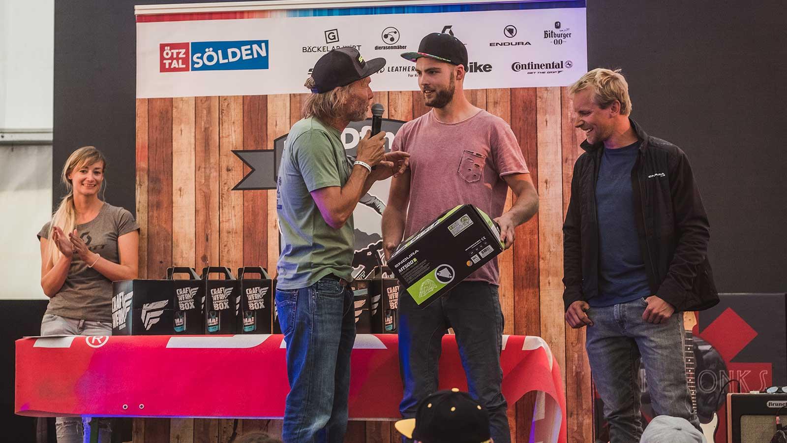 Event Schnitzeljagd 2018 - Siegerehrung Männer