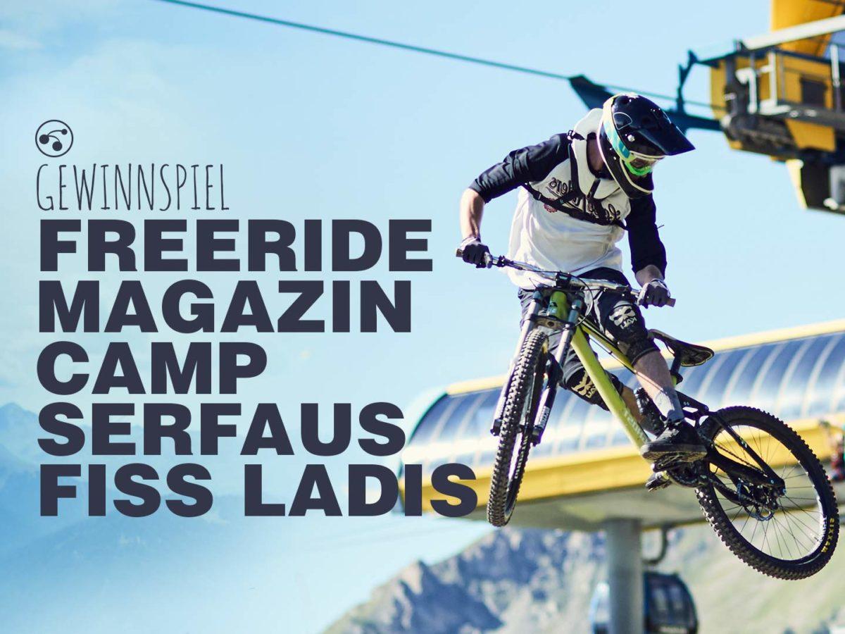 Gewinnspiel FREERIDE Magazin Camp Serfaus-Fiss-Ladis