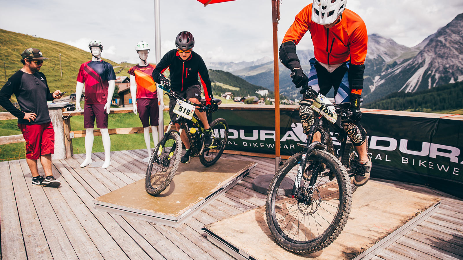 Event Hörnlijagd 2018 Arosa - Endura Station