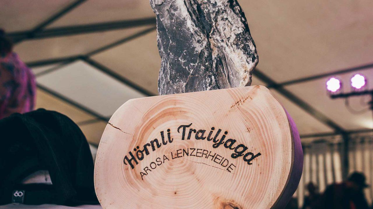 Event Hörnlijagd 2018 Arosa - Trophäe