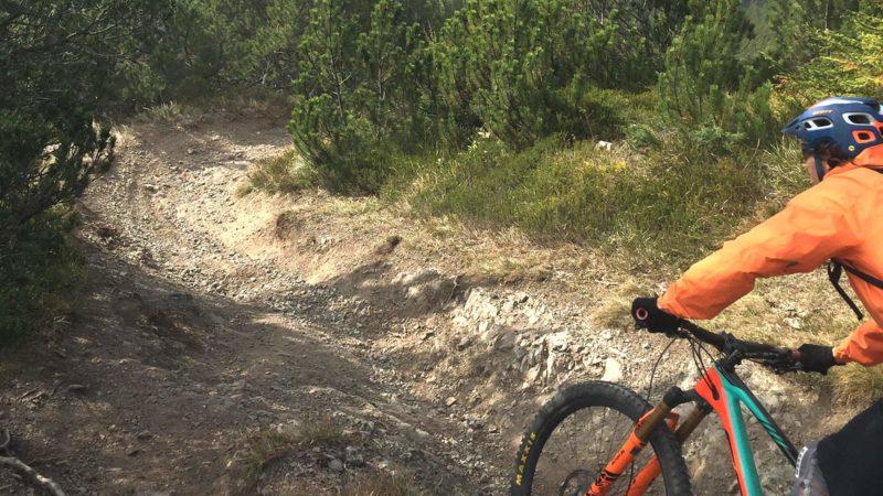 Trailfahrtechnik Lermoos Die Rasenmäher Mountainbike Camp – Singletrails