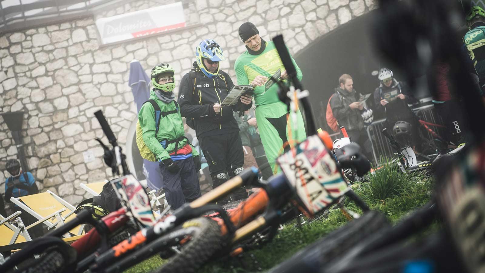 Die Rasenmäher Event Knödeljagd 2019 - Startareal