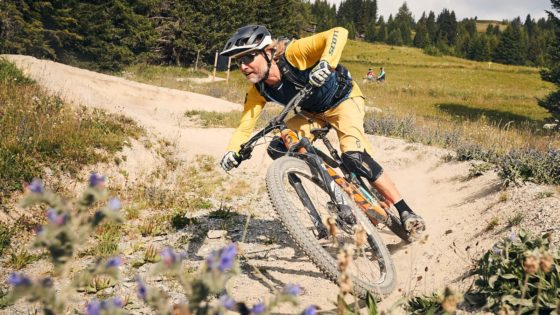 Fahrtechnik Bikepark Oberammergau Bayern, Kurventechnik - Die Rasenmäher Mountainbike Camp