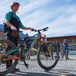 Fahrtechnik Bikepark Oberammergau Bayern, Bikecheck - Die Rasenmäher Mountainbike Camp