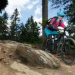 Trailcamp Reschenpass (Women), Downhill Training - Die Rasenmäher Mountainbike Camp