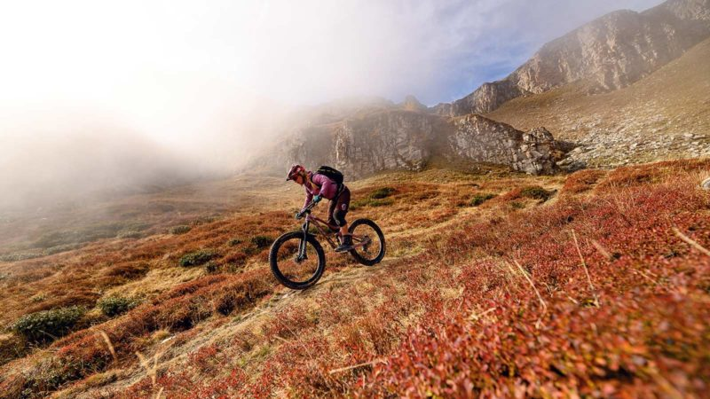 Enduro Trip Valle Maira Superior MTB Camp, Abenteuer - Die Rasenmäher Mountainbike Camp