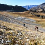Enduro Trip Valle Maira Superior MTB Camp, Gletscher - Die Rasenmäher Mountainbike Camp