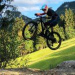 Rookie Camp Bikepark Oberammergau Bayern, Kicker - Die Rasenmäher Mountainbike Camp