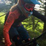 Rookie Camp Bikepark Oberammergau Bayern, Closeup - Die Rasenmäher Mountainbike Camp