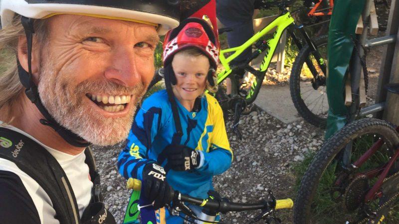 Rookie Camp Bikepark Oberammergau Bayern, Holger & Lois Meyer - Die Rasenmäher Mountainbike Camp