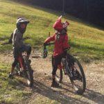 Rookie Camp Bikepark Oberammergau Bayern, Streckencheck - Die Rasenmäher Mountainbike Camp