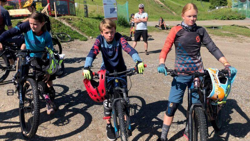 Rookie Camp Bikepark Oberammergau Bayern, MTB Theorie - Die Rasenmäher Mountainbike Camp