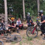 Rookie Camp Bikepark Oberammergau Bayern, MTB Training Trailcheck - Die Rasenmäher Mountainbike Camp