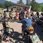 Rookie Camp Bikepark Oberammergau Bayern, MTB Warmup - Die Rasenmäher Mountainbike Camp