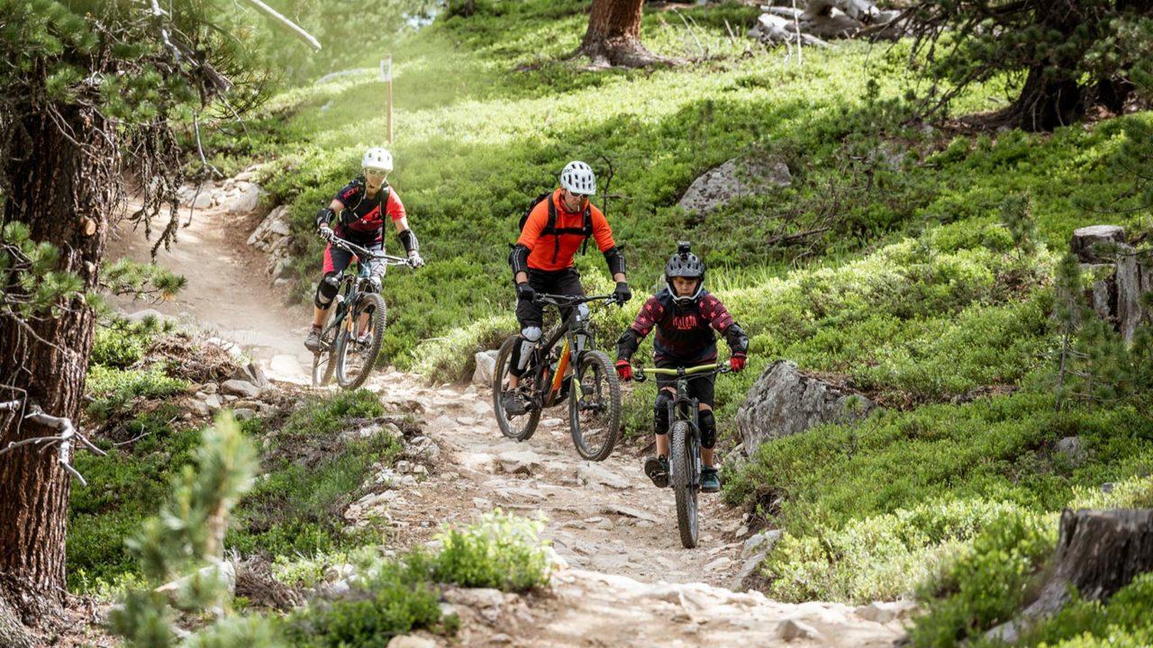 Father & SonDays - Trails - MTB Singletrails mit perfekten Trainingsmöglichkeiten. Foto: Clemens Bartl