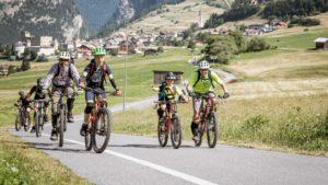 Father & SonDays - Enduro - Trailquerungen in Nauders auf Fahrradwegen. Foto: Clemens Bartl