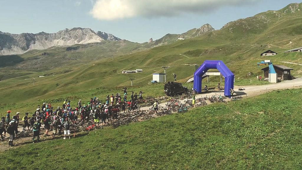 Event Hörnli Trailjagd 2021 Arosa Lenzerheide - Start - Event