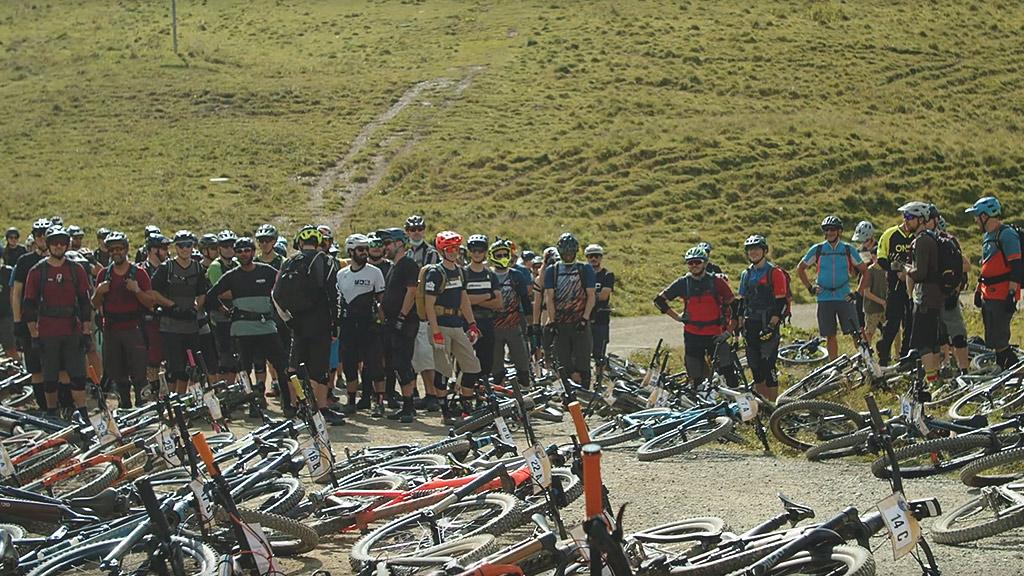Event Hörnli Trailjagd 2021 Arosa Lenzerheide - Startaufstellung - Event